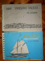 VINTAGE NOVA SCOTIA SKETCH BOOKS BY L.B. JENSON