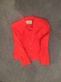 Vintage Jaeger orange jacket