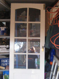 Glass panel doors