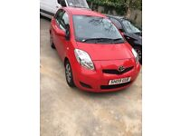 2009 Toyota YARIS Red Manual Good Condition