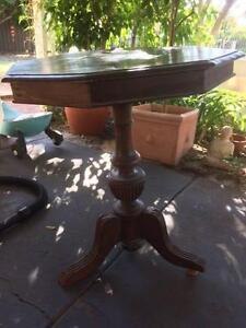 Antique side table, Redcliffe WA Redcliffe Belmont Area Preview