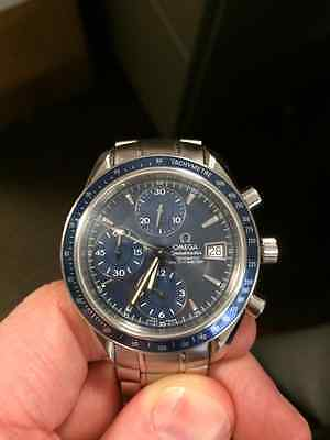 Omega Speedmaster Date - Blue Face
