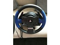 Thrustmaster T150 Force Feedback Wheel + Pedals