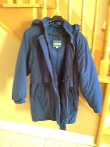 Women's Stoney Creek navy blue embroidered parka jacket London Ontario image 7