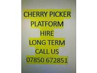 Ford Transit Hoist Cherry Picker Hire From £300 PW Essex