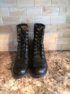Roper Lace Up Boots