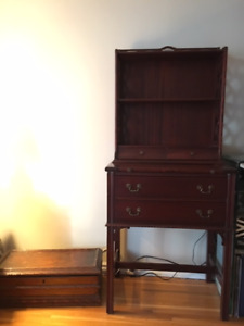 Antique bookshelf