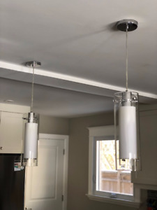 Kitchen island lighting (set of two)