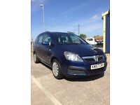 vauxhall zafira 2008, 1.9 diesel, 7 seats, low miles, long MOT