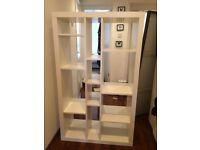 White shelving unit / storage - maisons du monde