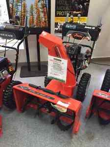 ARIENS DELUXE 28 SNOW BLOWER.