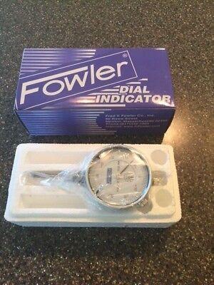 Fowler 52-520-110-0 - 0-1 - 0-100 Dial Indicator - New