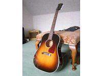 Gibson Montana J45 Limited Edition Mahogany Special 2015