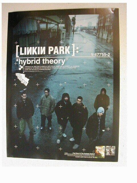 Linkin Park Promo Poster Poster Band Shot