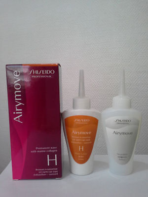 SHISEIDO Airymove permanent wave with marine collagen - H