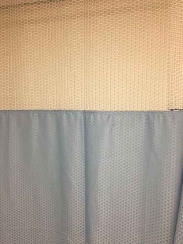 "Code Compliant Anti-microbial FR Hospital Curtains: 264""W X 84""L"