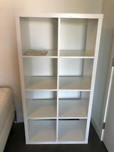 BRAND NEW WHITE KALLAX IKEA SHELVING UNIT - REG PRICE $130