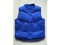 Blue Bodywarmer Age 3-4 years Excellent condition