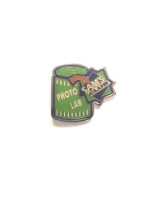 Rare Walmart Sams Club Photo Lab Wal Mart Lapel Pin Pinback Brand New
