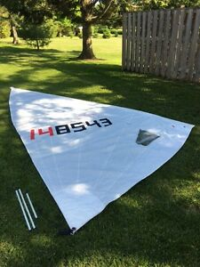 Laser 1 Intensity Radial Sail (Used)