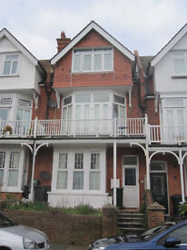 Large sunny maisonette in Eastbourne Old Town