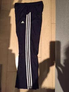 Girls Adidas Climalite track pants