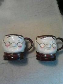 Vintage Weiss Mugs.