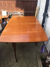 Brown Foldable Table £20 Very Good Condition Last Price