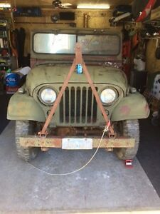 1953 Willys M38A1, Army Jeep