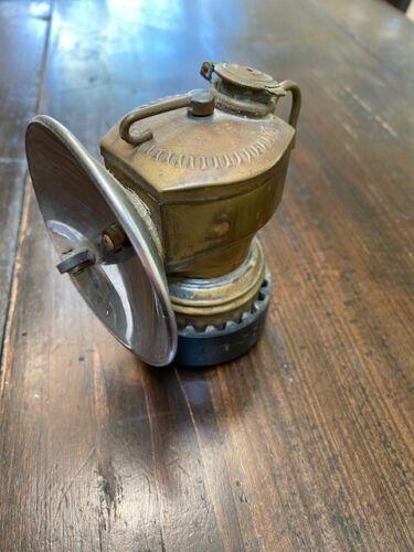 Vintage Antique Justrite Miner