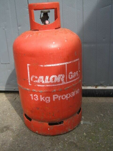 Full Calor Gas Propane Bottle 13kg In Mansfield