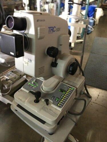 Topcon TRC-50IX Retinal Camera