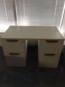 double small filing cabinet