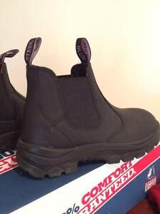 Steel Blue work Boots / Safety Steel Toe cap / Women Size 8 Lutwyche Brisbane North East Preview