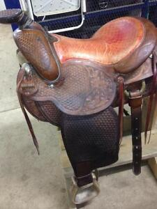 Roping Saddle for sale.
