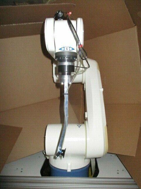Denso VS-6577GM 6-Axis Robot Arm w/ 410200-0530 Controller & Teach Pendant
