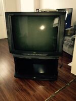 """32"""" JVC TV (Tube) with stand"""