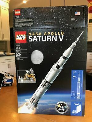LEGO Ideas Nasa Apollo Saturn V (21309) And Creator Space Shuttle | BOX ONLY!