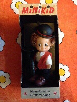 Rarität Schildkröt Minikid Musikant OVP Vintage 60er Jahre Puppe