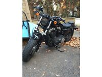 Sportster 48 - 1200cc - black - 2014 - stage 1