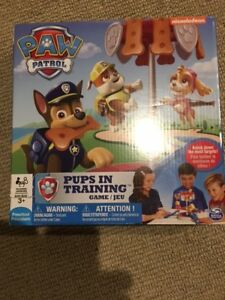 Paw Patrol Pups in Training Board Game - Gently Used