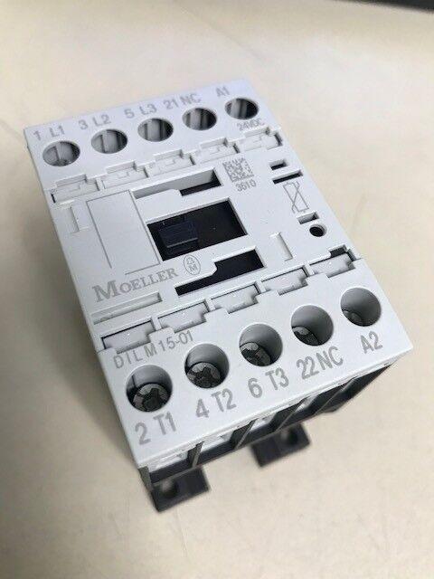 MOELLER ELECTRIC DILM15-01 24VDC CONTACTOR