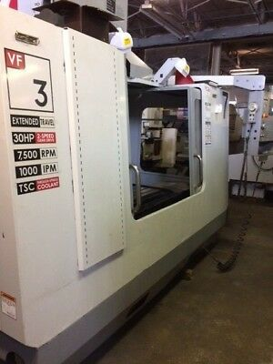 2006 Haas Vf3yt50 Cnc Vertical Machining Center -video Free Loading - Michigan