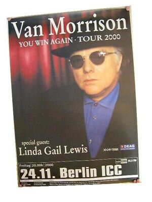 Van Morrison German Tour Poster 2000 Concert for sale  Shipping to Canada