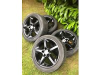 "Astra Corsa set of 17"" alloy wheels"