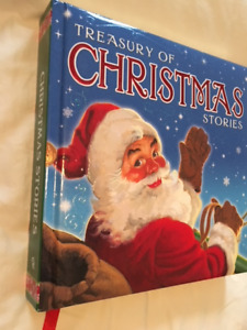 """""""TREASURY OF CHRISTMAS STORIES"""" BOOK 320 pages."""