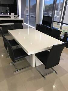 Kitchen Dining Table with Chairs -  Ex Showroom Display Prestons Liverpool Area Preview