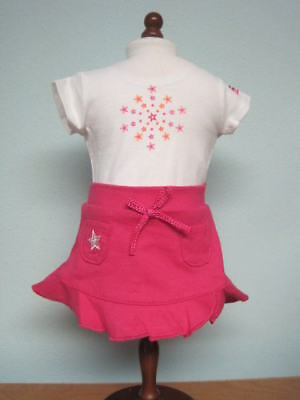 NEW American Girl T-shirt & Skirt/AG Fashion Show Exclusive