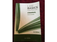 Criminal Law Basics by Clare Connelly