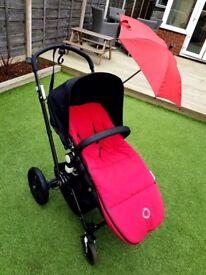 Bugaboo Cameleon in Black/Red